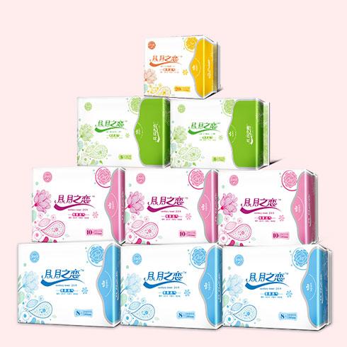 月月之恋卫生巾-全系列产品