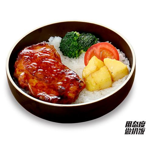 十二稻扒饭系列-奥尔良鸡扒饭