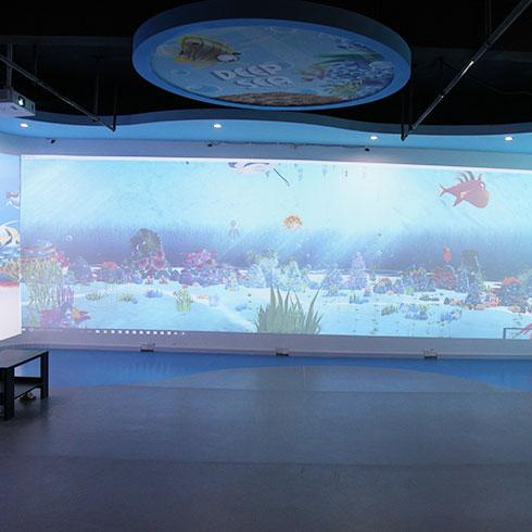 秀宝科学亲子馆-AR海底世界区