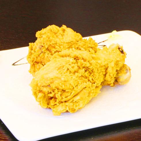 潮鸡仔炸鸡-炸鸡腿美味
