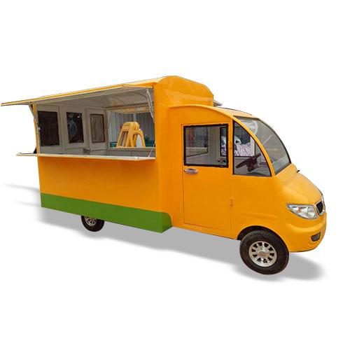 一路飘香小吃车-中式汽车餐车