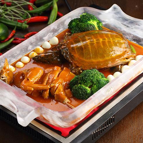 合和乐快餐-憋鱼炖鸡