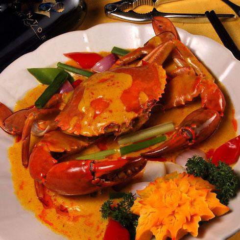 巴比酷肉蟹煲-咖喱大闸蟹