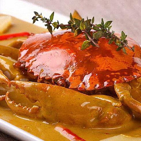 巴比酷肉蟹煲-美味大闸蟹