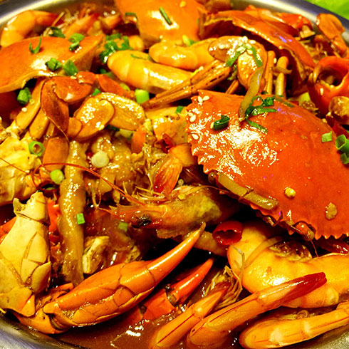 巴比酷肉蟹煲-美味蟹肉煲