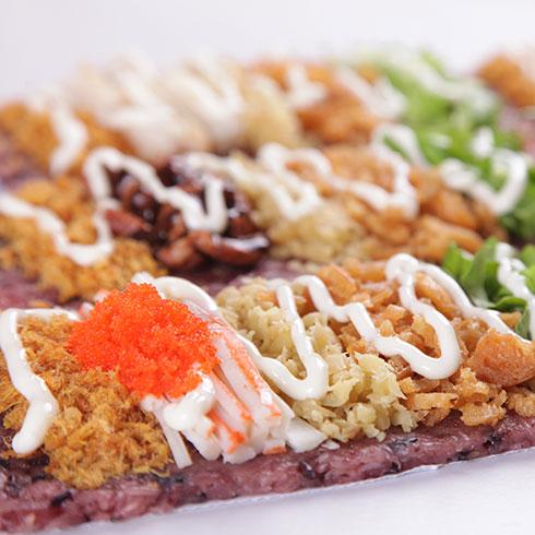 米棒饭团-沙拉鱼籽饭团