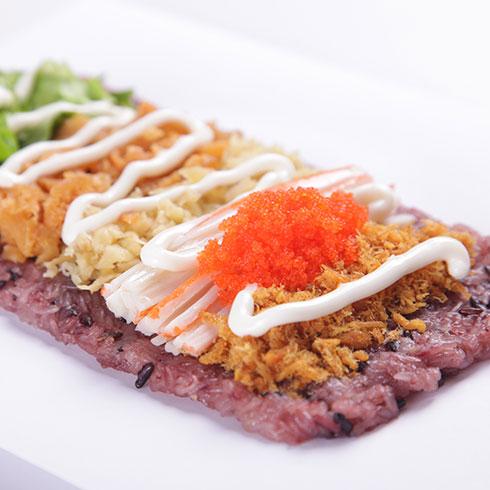 米棒饭团-鱼仔饭团