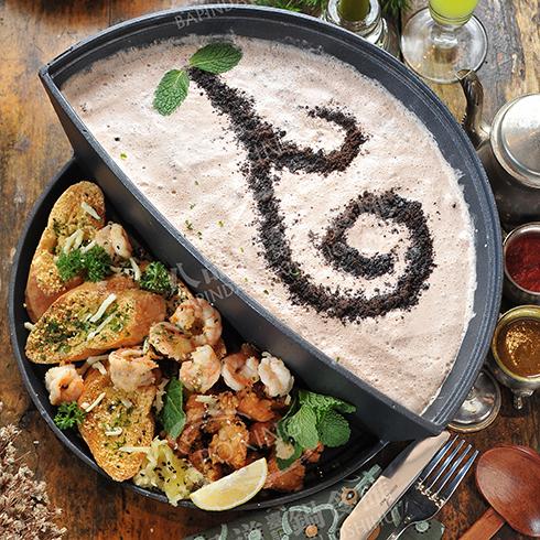 八品道台记锅食汇-奶油蘑菇锅