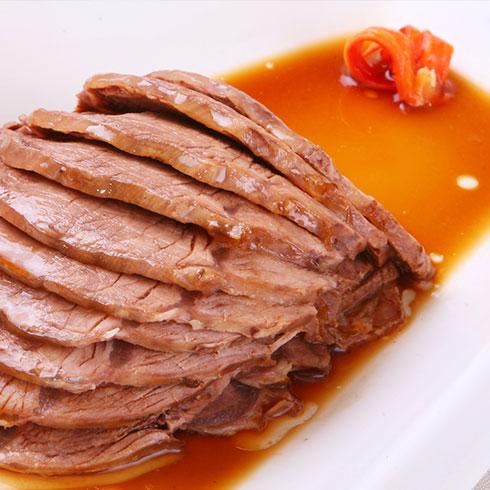 王老五骨汤功夫面-酱牛肉