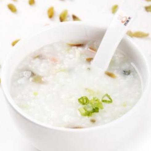 谷连天-皮蛋瘦肉粥