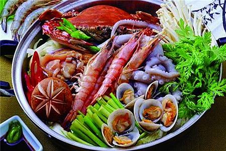 炙青春-韩式海鲜火锅图片