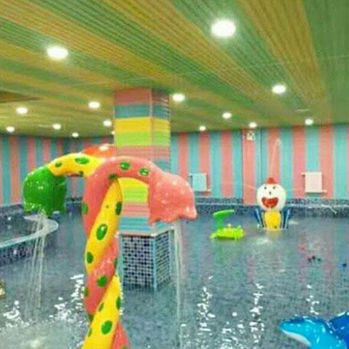 海乐游水上乐园-喷水泳池