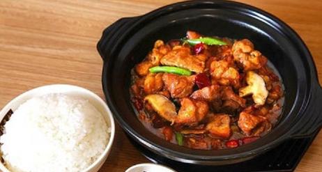 上吉铺-黄焖鸡米饭