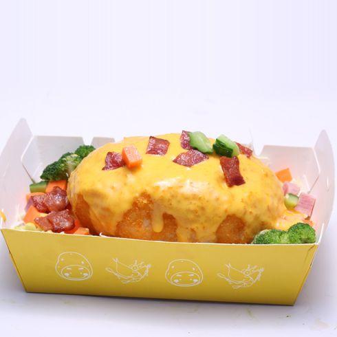 虾Dou先生-起司多样凸蛋糕