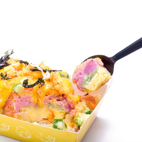 虾Dou先生台湾小吃-起司蔬菜蛋糕