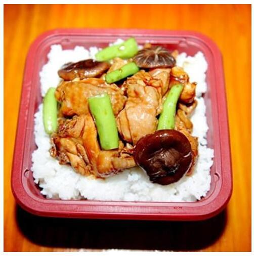 食必思黄焖鸡米饭-便当类