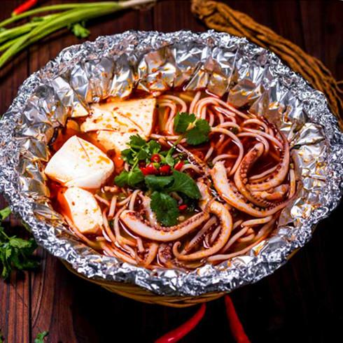 菌汤豆腐米线