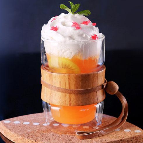 鲜果蜜语奶茶饮品-雪盖柠檬汁