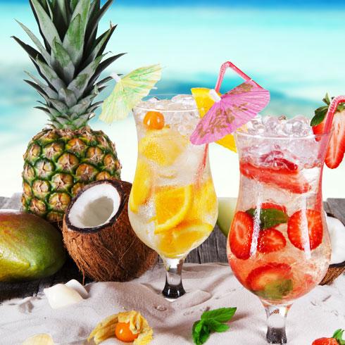 鲜果蜜语奶茶饮品-夏日果汁系列