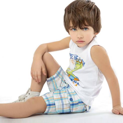 摩卡小宝童装-休闲套装