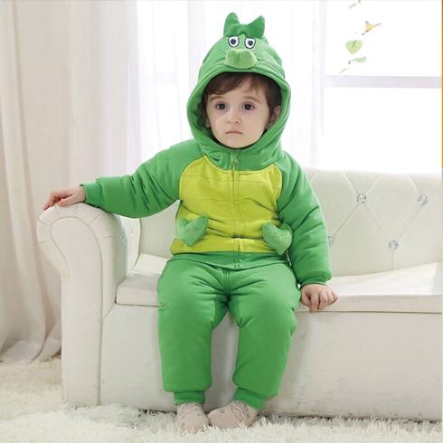 摩卡小宝童装-恐龙棉服