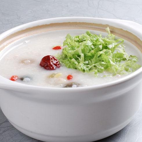 蒸天下包子-红枣蔬菜粥