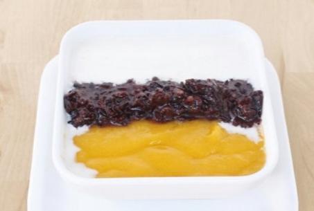 甜缘果语-芒黑糯米甜品