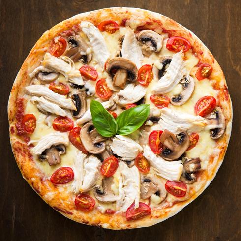 披萨堡贝-火鸡白蘑菇披萨
