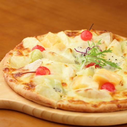 披萨堡贝-鲜果雪酪披萨