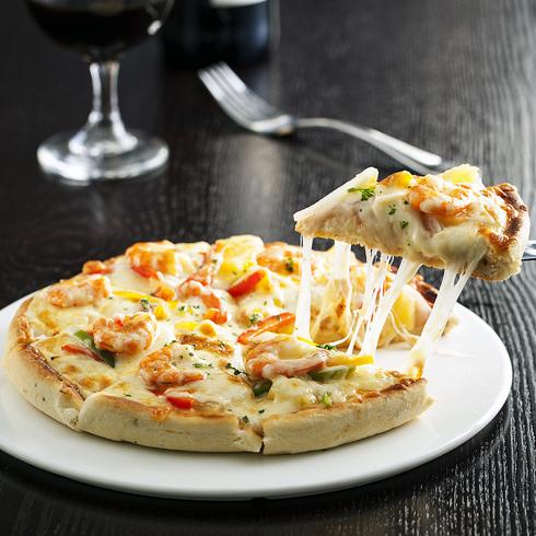 披萨堡贝-鲜虾至尊宝披萨