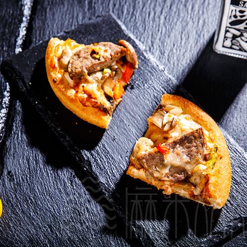 麻朵姑娘饮品屋-牛排pizza