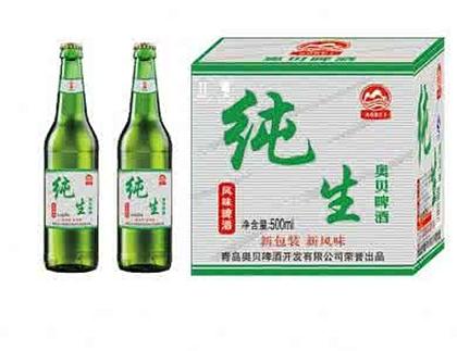 纯生-原啤酒