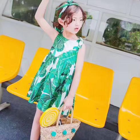 普朵米琪童装-无袖连衣裙