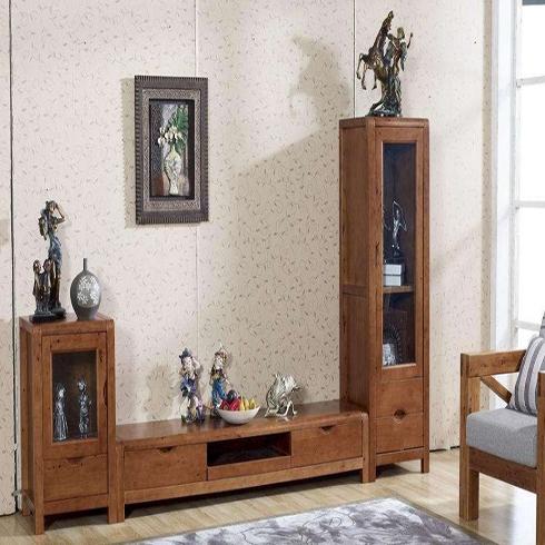 瑞藤-木工创意电视柜图片