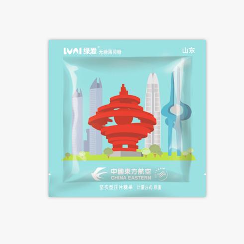 绿爱定制糖-中国东方航空商务招待糖果