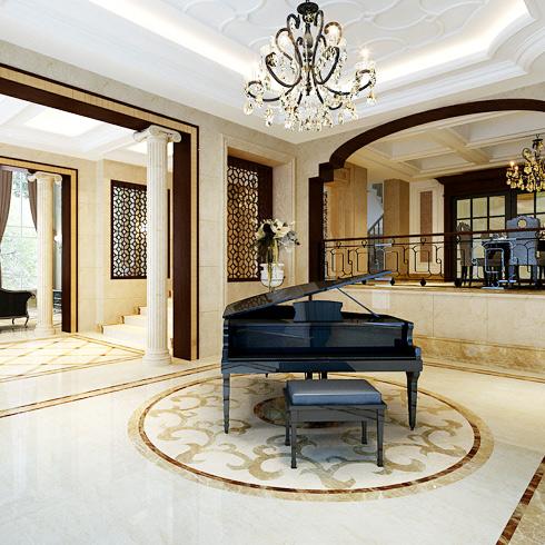 嘉得福集成墙-钢琴房装修效果图