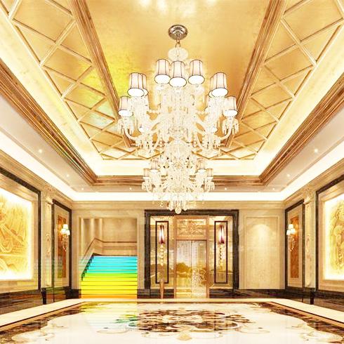 多格印象智能装饰画-酒店装修效果图