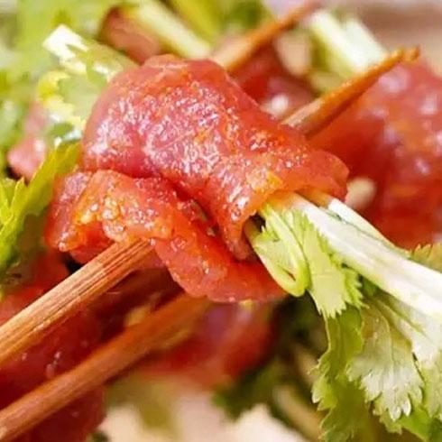 李记串串香-芹菜烤肉