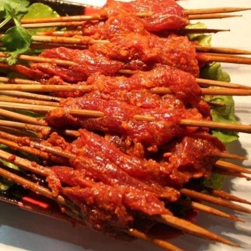 李记串串香-羊肉串