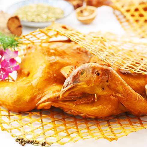 鸡鸭随你小吃-香浓烤鸡