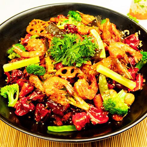 鲜馋后饱啵啵鱼快餐-香辣虾
