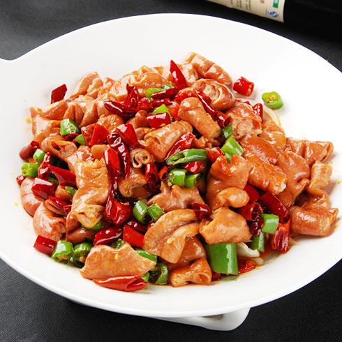 鲜馋后饱啵啵鱼快餐-香辣肥肠