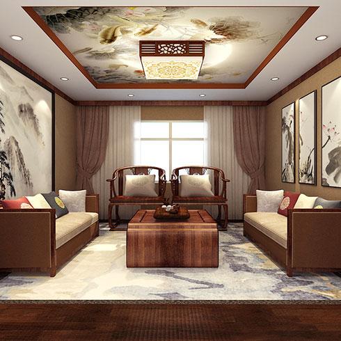 亚美舒集成墙饰-古朴风格装修效果图