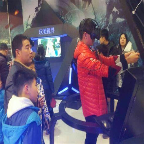 玩美视界VR主题游乐馆-虚拟游戏世界