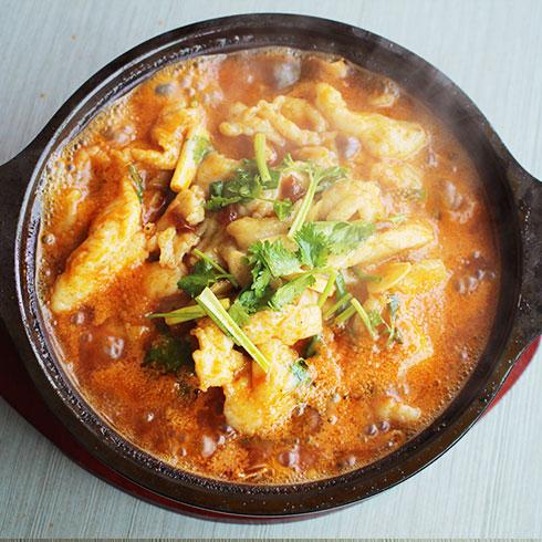 簋鱼锅啵啵鱼快餐-番茄啵啵鱼