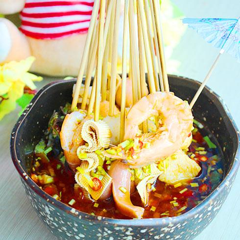 煮汤功夫麻辣烫-海鲜麻辣串