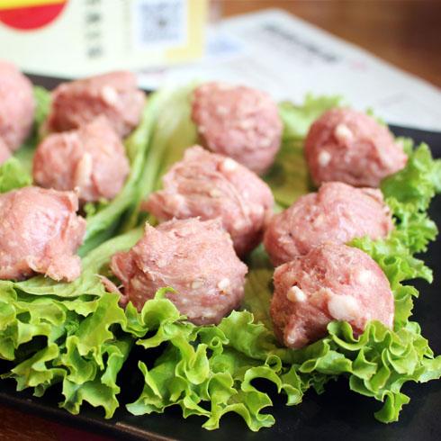 领鲜潮牛火锅-美味肉丸子