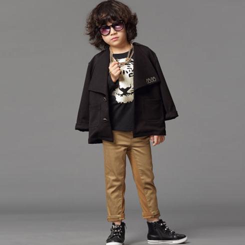 米奇哈噜童装生活馆-休闲小西装外套