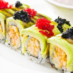 香柠之咖特色茶饮-美味寿司