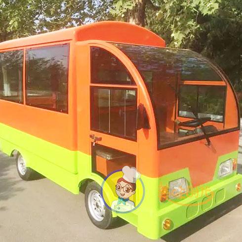 美味时代小吃车-巴士餐车
